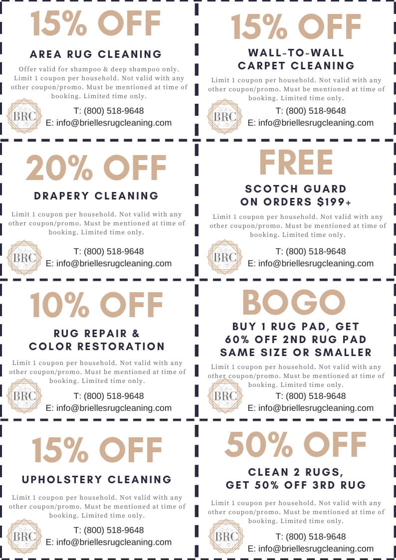 Cleaning Coupons